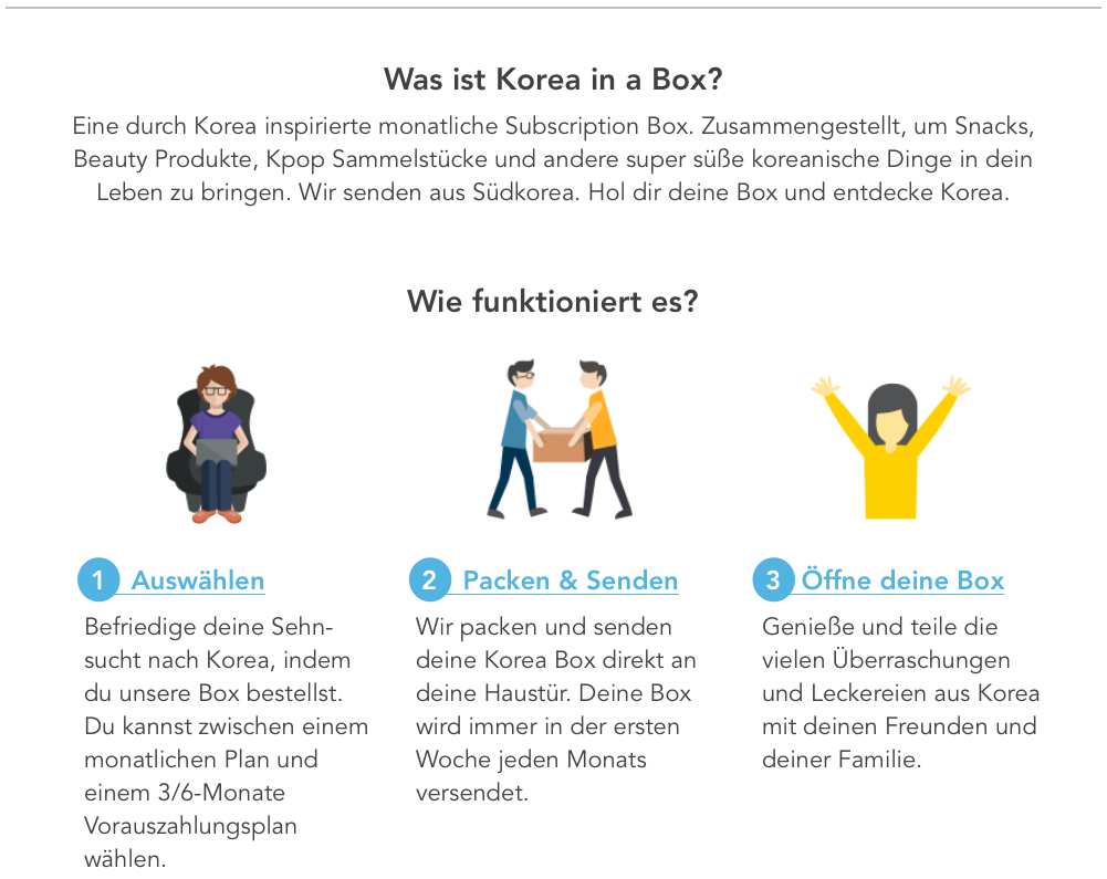Korea Subscription Box