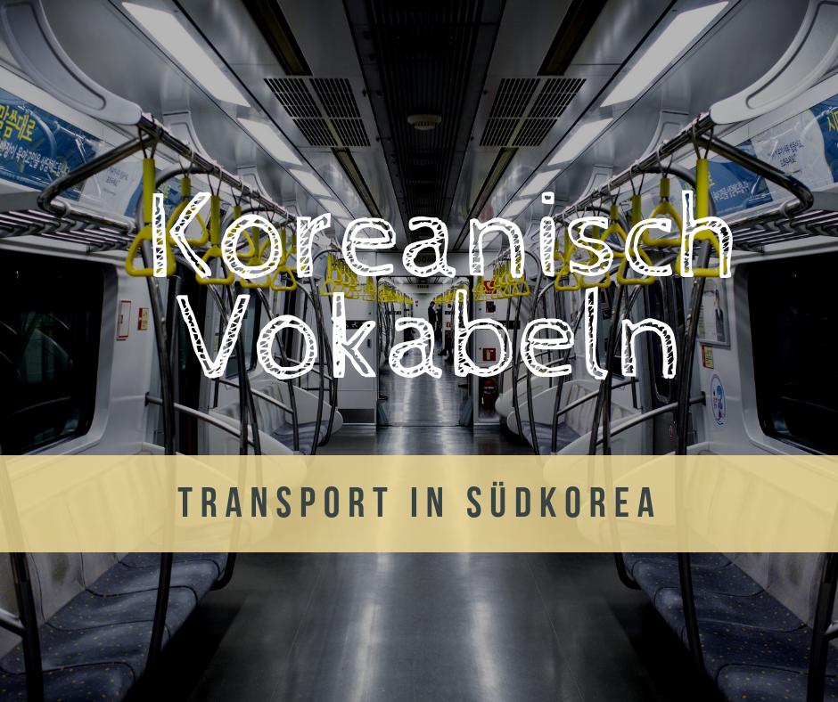 Seoul Verkehrsmittel